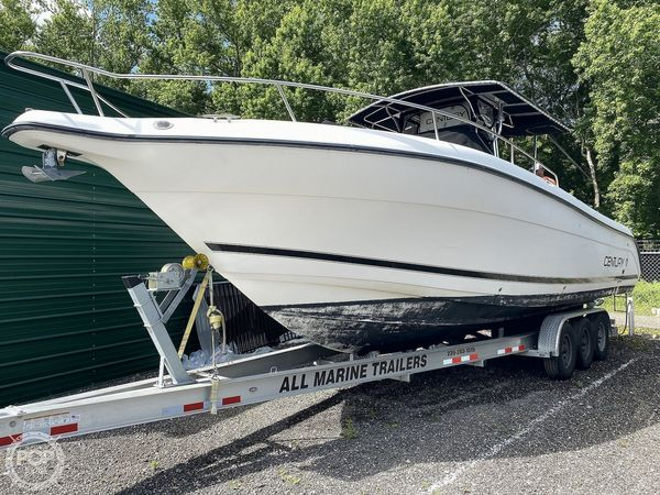 Used Century 3200 Center Console Fishing Boat For Sale