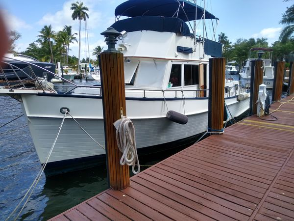 Used Grand Banks Classic 42 Trawler Boat For Sale