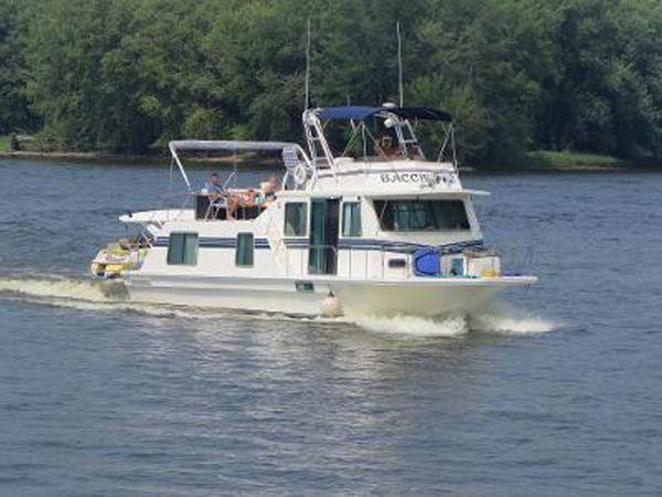 Used Harbor Master Coastal Cruiser Wide Body House Boat For Sale