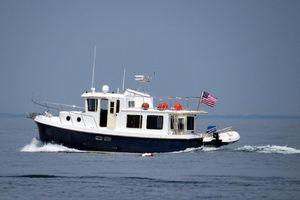 Used American Tug 34 Pilothouse Trawler Tug Boat For Sale