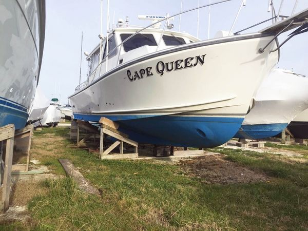 Used Evans & Sons Downeast Fishing Boat For Sale