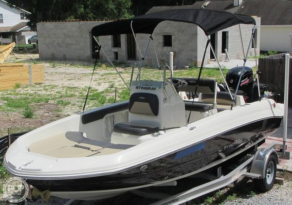 Used Stingray 186CC Center Console Fishing Boat For Sale