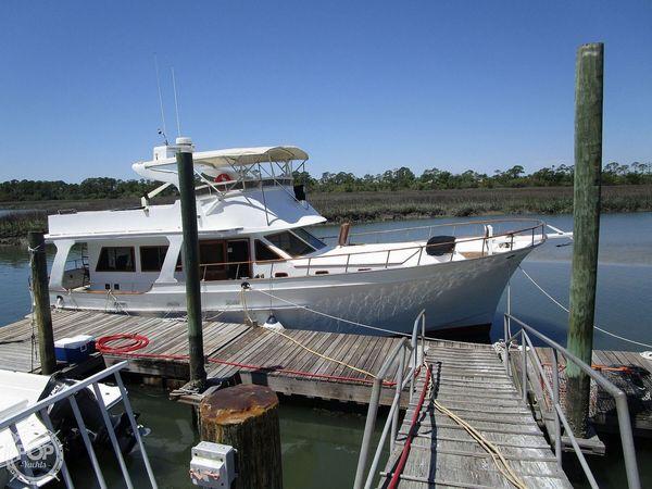 Used Albin 49 Extended Flybridge Trawler Boat For Sale