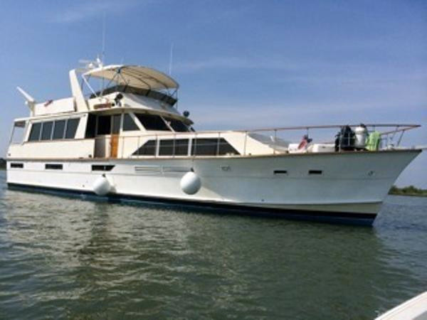 1978 used pacemaker motor yacht for sale 199 900 palm for Motor yachts for sale in florida