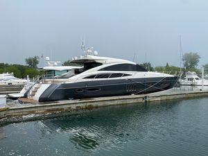 Used Princess V70 Express Cruiser Boat For Sale