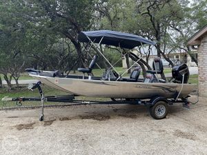 Used Lowe 17 Stryker Bass Boat For Sale