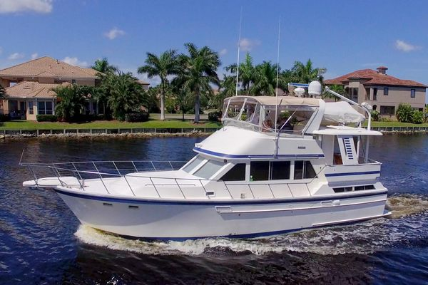 Used Jefferson 42 Sundeck Trawler Aft Cabin Boat For Sale