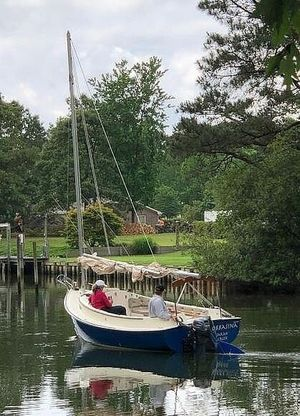 Used Com-Pac Horizon Day Cat 20 Daysailer Sailboat For Sale
