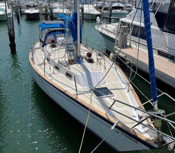 Used Morgan 384 Racer and Cruiser Sailboat For Sale
