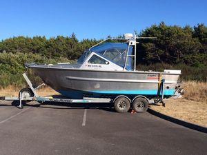 Used Eaglecraft 22 Cruiser Aluminum Fishing Boat For Sale
