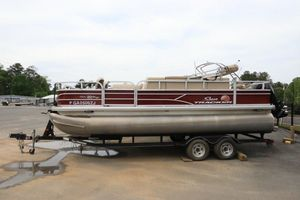 Used Sun Tracker Fishing Barge 20 DLX Pontoon Boat For Sale
