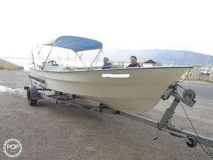Used Panga 22 Skiff Fishing Boat For Sale