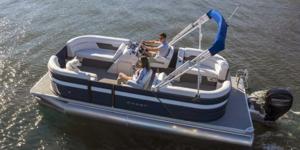 New Crest CL LX Pontoon Boat For Sale