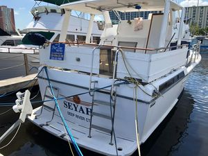 Used Symbol Sun Deck Flybridge Boat For Sale
