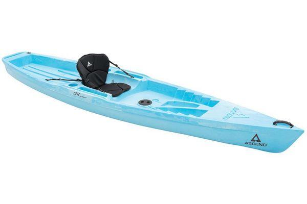 New Ascend 12R Sport Sit-On - Blue/White Kayak Boat For Sale