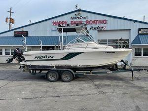 Used Pro-Line 211 Wa Walkaround Fishing Boat For Sale