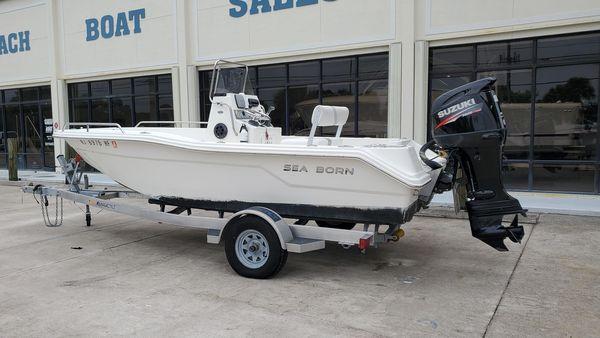 Used Sea Born NX 1910 Center Console Fishing Boat For Sale