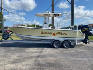 Used Seacraft SC 25 Open Center Console Fishing Boat For Sale