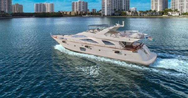 Used Azimut Flybridge 80 Motor Yacht For Sale