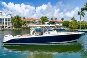 Used Pursuit 408 Cuddy Cabin Boat For Sale