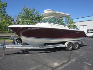 Used Pursuit OS 235 Offshore Saltwater Fishing Boat For Sale