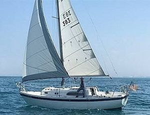 Used Columbia 28 Sloop Sailboat For Sale