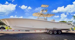 Used Invincible 42 Open Fisherman RE Powered Center Console Fishing Boat For Sale