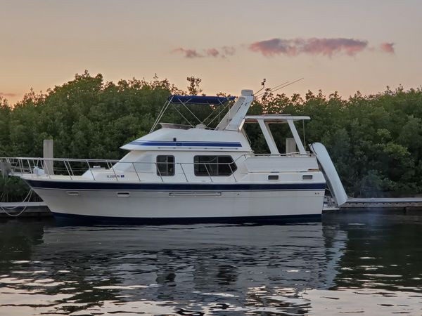 Used Overseas Classic 37 Cruiser Boat For Sale