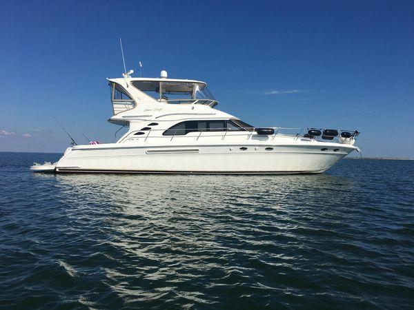 Used Sea Ray 560 Sedan Bridge Motor Yacht For Sale