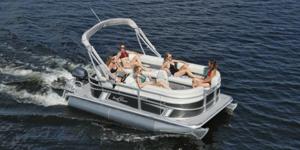 New Sunchaser Vista 18 LR Pontoon Boat For Sale