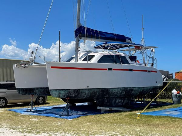 Used Lagoon 35 CCC Catamaran Sailboat For Sale