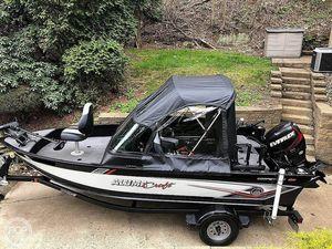 Used Alumacraft COMPETITOR 165 SPORT Aluminum Fishing Boat For Sale