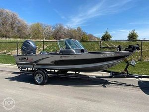 Used Alumacraft 175 Aluminum Fishing Boat For Sale