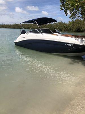 Used Hurricane SunDeck 2486 OB Deck Boat For Sale