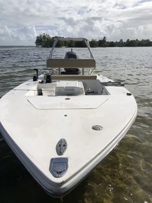 Used Competition flat boat Flats Fishing Boat For Sale