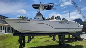Used Sea Fox 23 Center Console Saltwater Fishing Boat For Sale