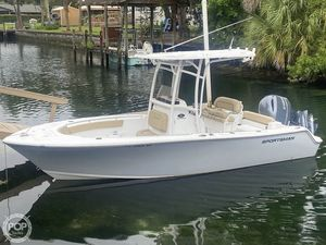 Used Sportsman 212 Open Platnum Center Console Fishing Boat For Sale