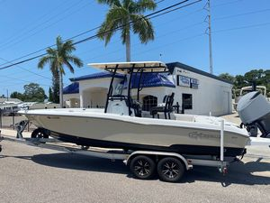 Used Crevalle 25 Bay Center Console Fishing Boat For Sale