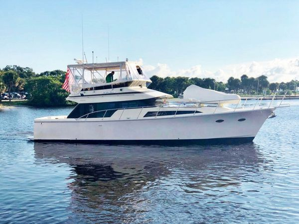 Used Mikelson 50 Sportfisher Convertible Fishing Boat For Sale