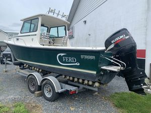 Used Steiger Craft 23 Chesapeake Downeast Fishing Boat For Sale