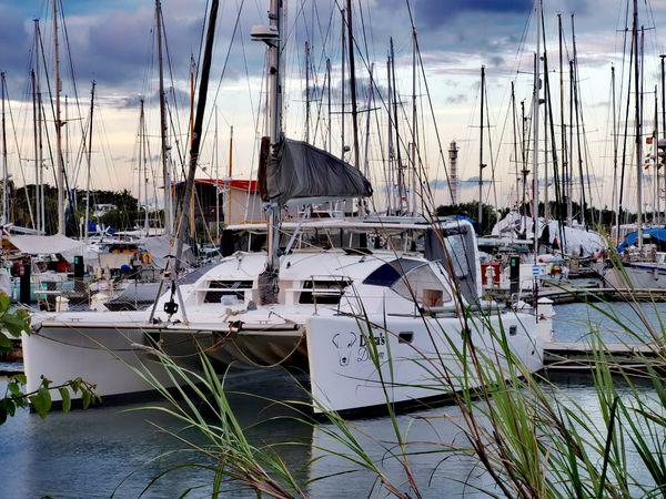 Used Admiral 40 Executive Catamaran Sailboat For Sale