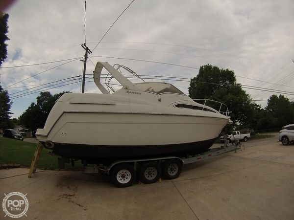 Used Carver 310 mid cabin express Cruiser Boat For Sale