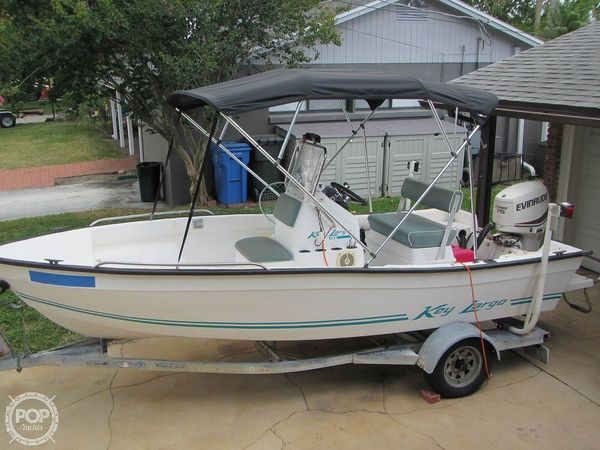 Used Key Largo 156 Center Console Fishing Boat For Sale