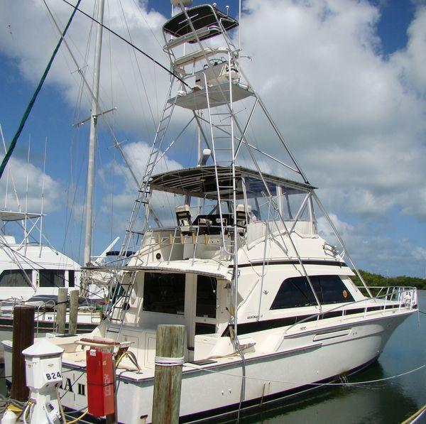 Used Bertram 50 Sport Fisherman Convertible Fishing Boat For Sale