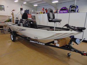 New Crestliner 1700 Storm Freshwater Fishing Boat For Sale