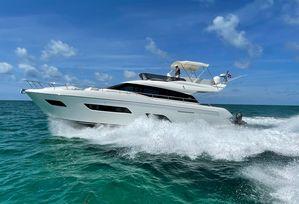 Used Ferretti Yachts 550 Cruiser Boat For Sale