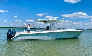 Used Venture 34 Cuddy Center Console Fishing Boat For Sale