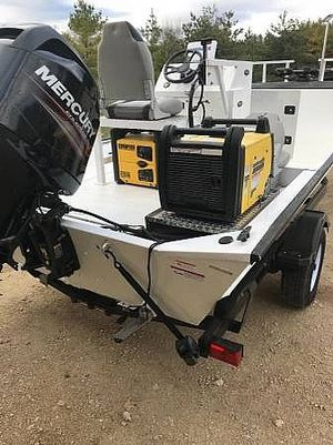 Used Lowe 2070 Roughneck Center Console Fishing Boat For Sale