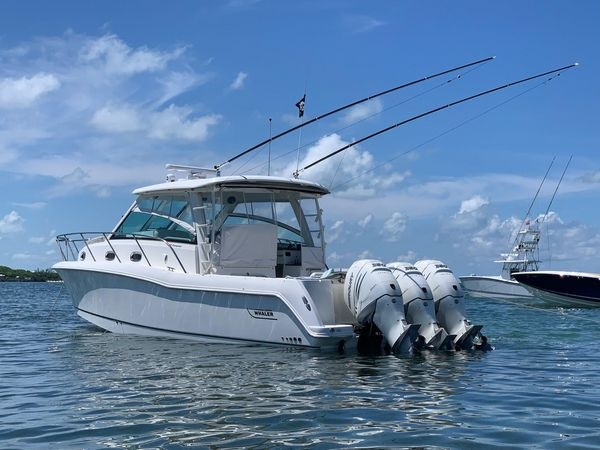 Used Boston Whaler 345 Conquest Walkaround Boat For Sale