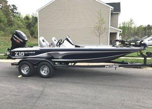 Used Nitro Z18 DC Bass Boat For Sale